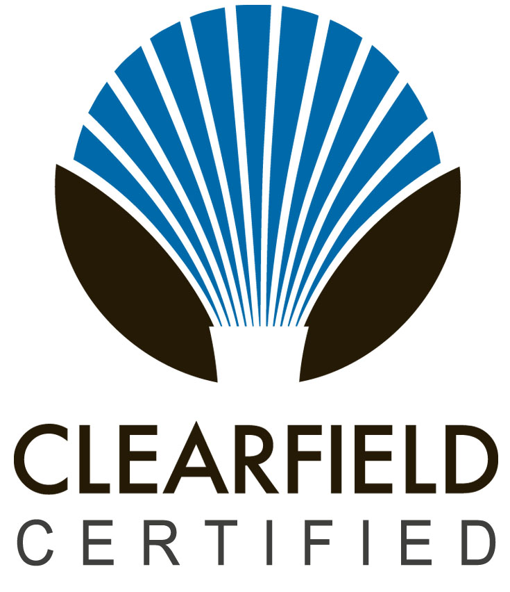 Clearfield Certified Logo