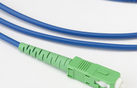 Green Bend Insensitive Fiber Jumpers