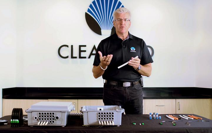 Image of training video offered by Clearfield College