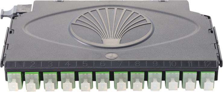 Fiber Cassettes, Clearview Black
