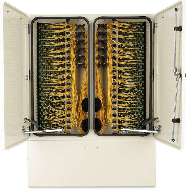 FieldSmart Fiber Scalability Center (FSC) Cross-Connect Cabinets - 432, 864 and 1,728 Ports