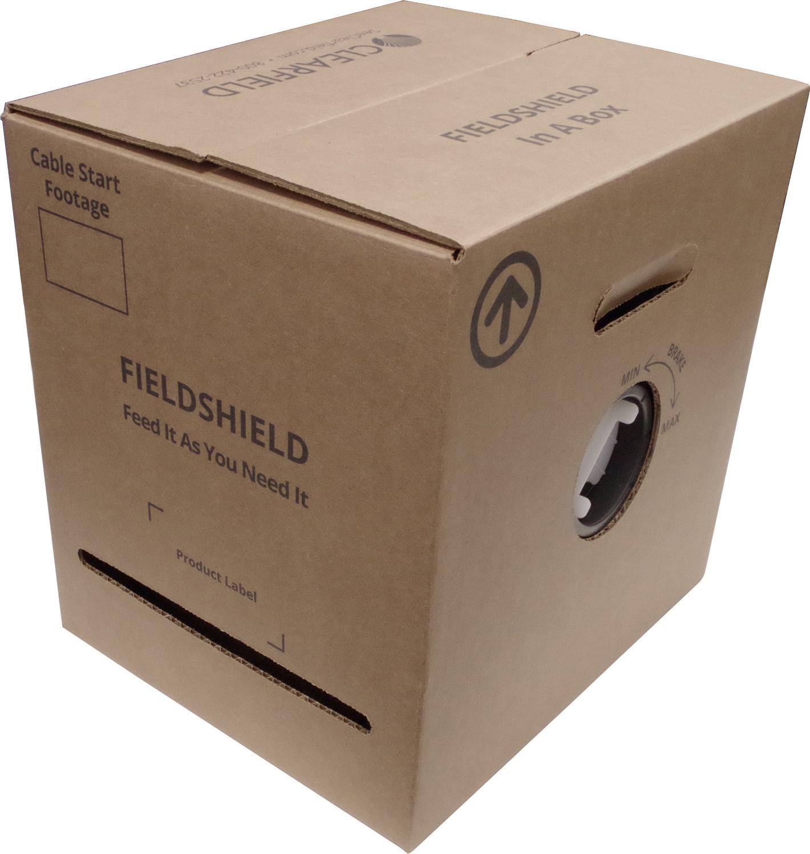 FieldShield Pushable Optical Fiber