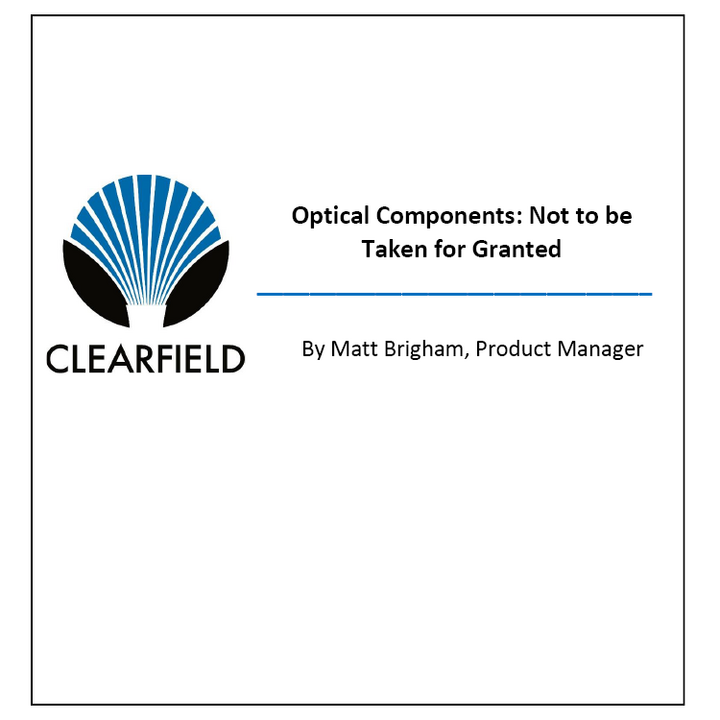 Thumbnail image of whitepaper from Clearfield detailing optical components