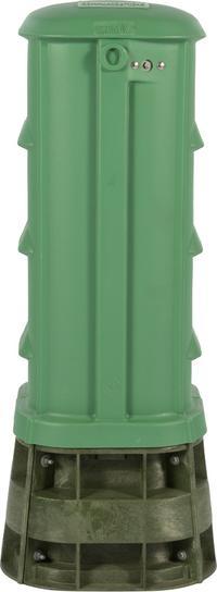 "30"" CraftSmart Fiber Protection Pedestal in Dark Green"