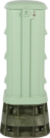 """30"""" CraftSmart Fiber Protection Pedestal in Light Green"""