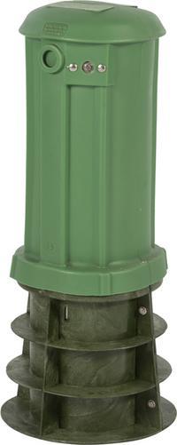 "20"" CraftSmart Fiber Protection Pedestal in Dark Green"
