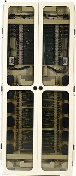 FieldSmart Fiber Crossover Distribution System (FxDS) Frame Kit