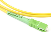 Green Indoor Fiber Jumper Cables