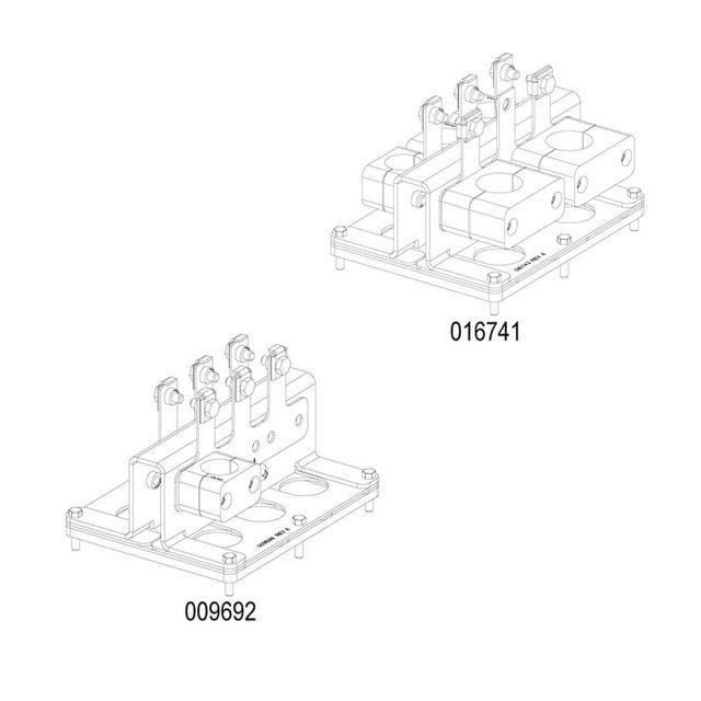 FieldSmart Fiber Scalability Center (FSC) Mid-Span Opening Feed-Through Plate Kit