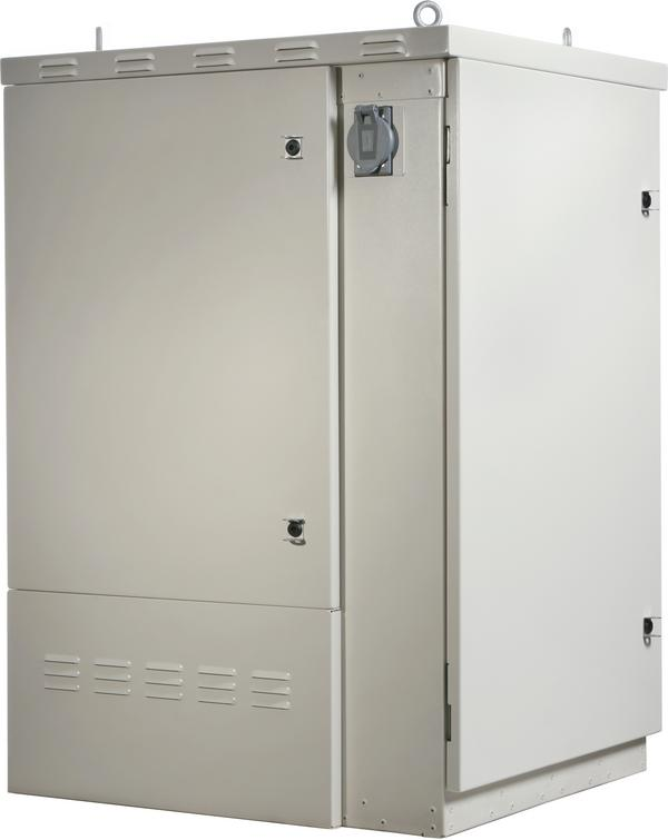 side View of Clearfield ODC-1000 Fiber Cabinet
