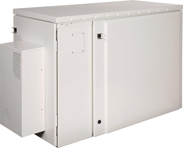 Side View of Clearfield ODC-200 Fiber Cabinet