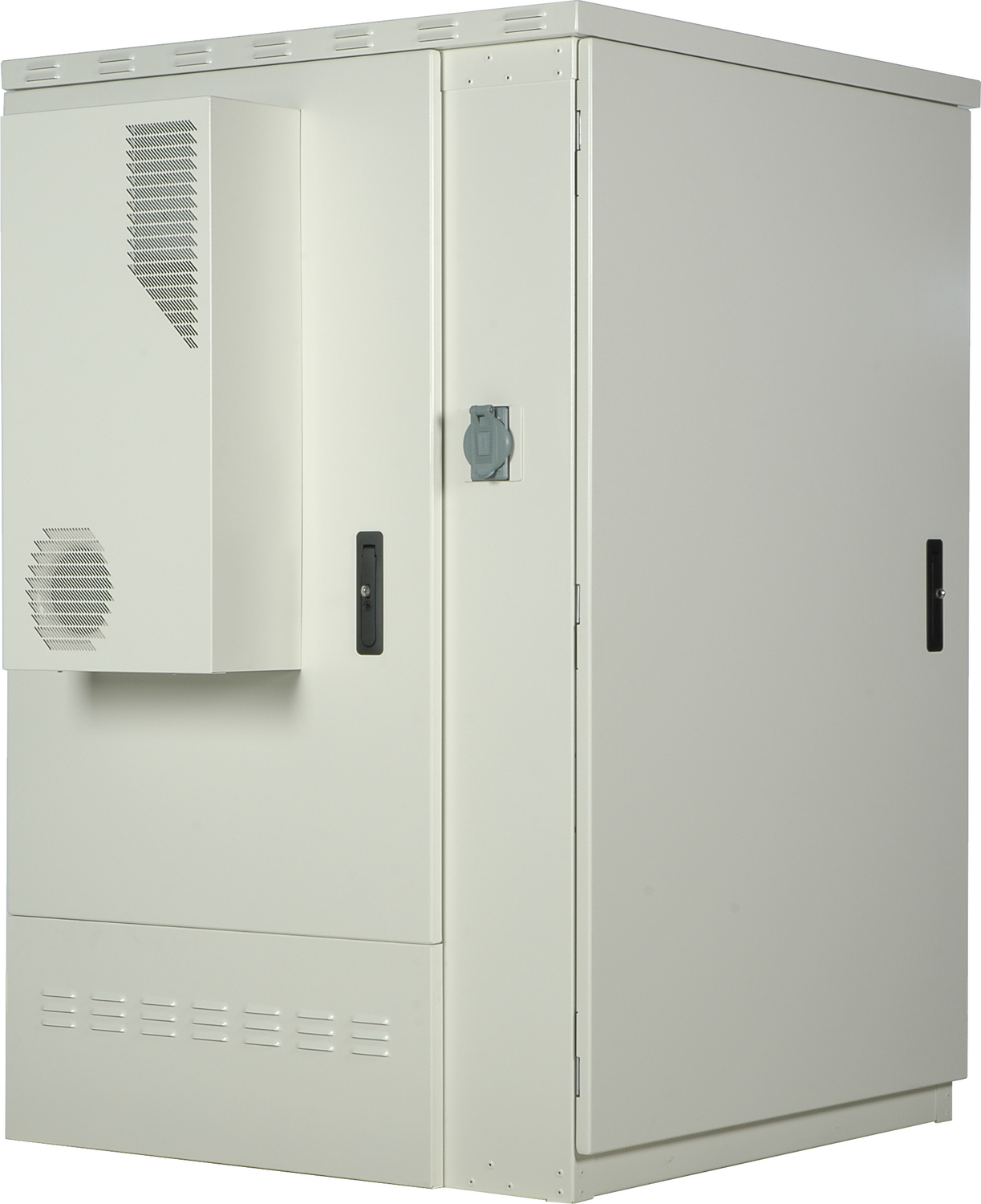 Side View of Clearfield ODC-2000 Fiber Cabinet