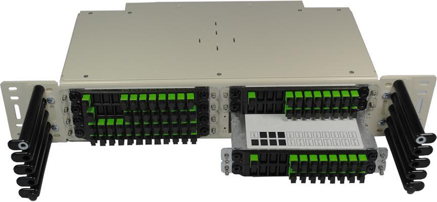 FieldSmart FxDS Fiber Optical Component Chassis