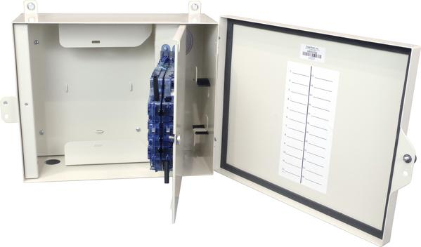 Fiber Delivery Point: Outdoor Wall Mount Panel