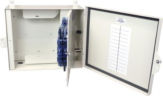 FieldSmart Fiber Delivery Point (FDP) Outdoor Wall Mount Panel - 24 and 48 Port