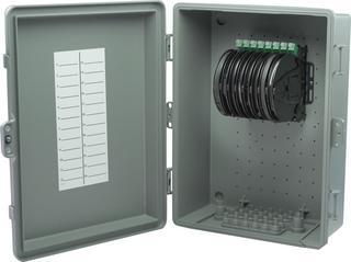 Bare Fiber Access Box for MDUs