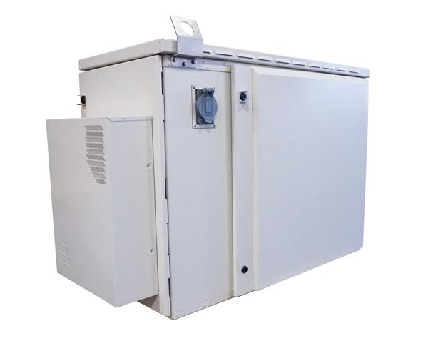 Side View of FieldSmart Fiber Active Cabinet 900