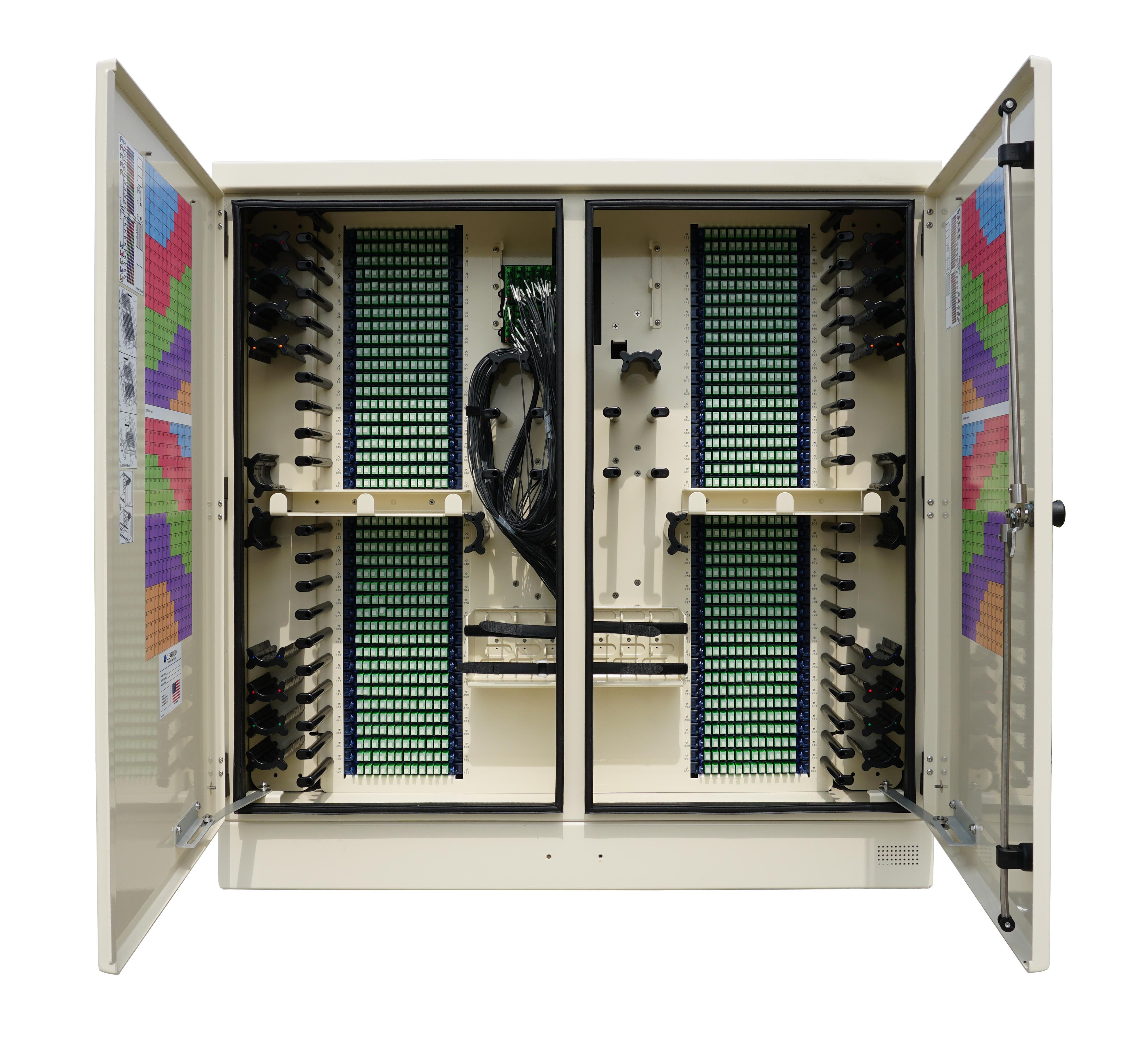 Gabinete de Distribución de Fibra FieldSmart (FDH) PON de 864 puertos