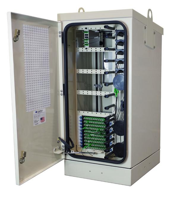 FieldSmart Fiber Distribution Hub (FDH) Hub Collapse Cabinet