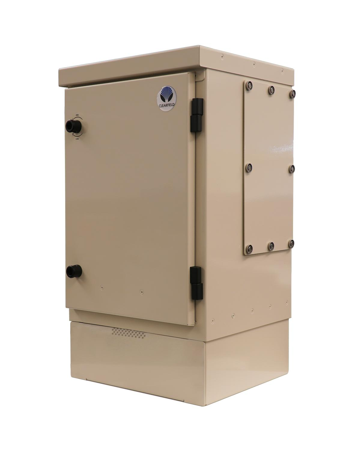 Angled image of StreetSmart Pre-Assigned FDH Cabinet