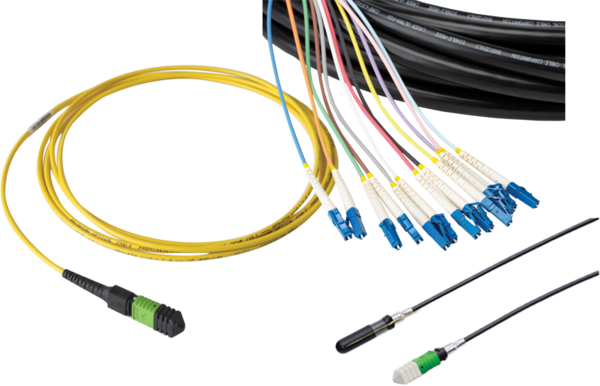 Fiber Cable Assemblies & Connectors