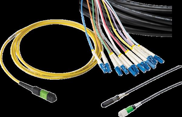 Ensamblajes de Cable de Fibra y Conectores