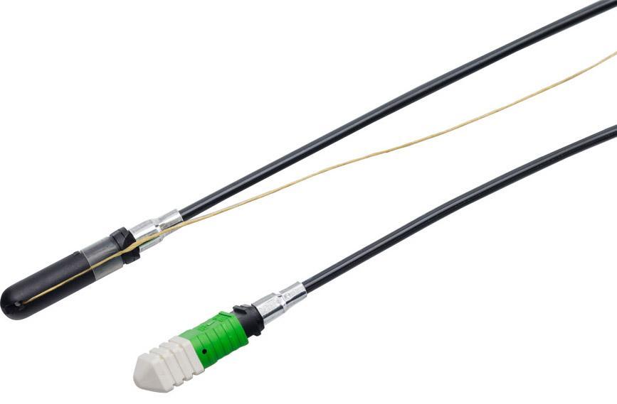 FieldShield MPO Pushable Fiber Connector Assemblies