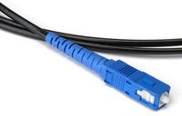 Blue Ruggedized Fiber Jumper